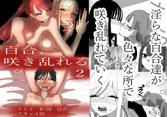 【新着同人誌】百合、咲き乱れる2のトップ画像