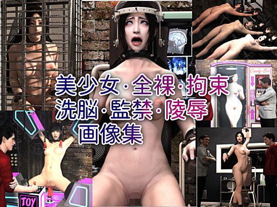 【新着同人誌】美少女・全裸・拘束・洗脳・監禁・○辱画像集のトップ画像